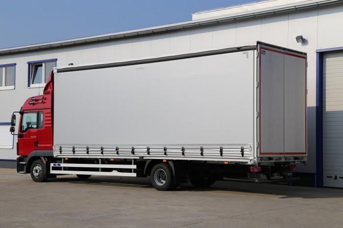 Planenaufbau PS18 für LKW von 6.0 bis 18.0 to.
